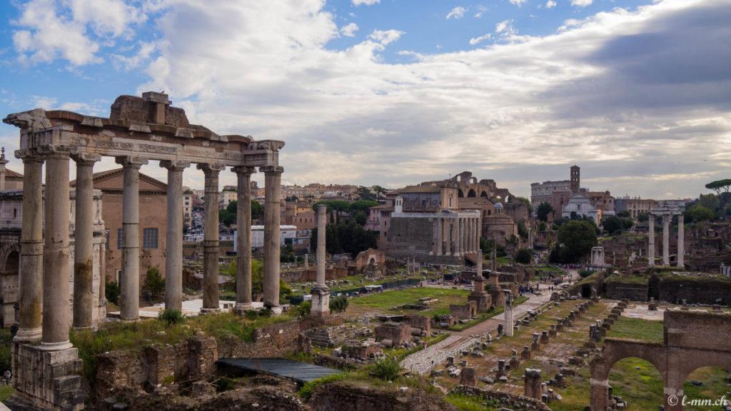 Le forum romain (3) - Rome