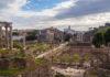 Le forum romain - Rome