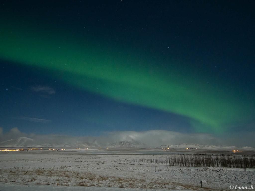 Aurore boréale - Islande