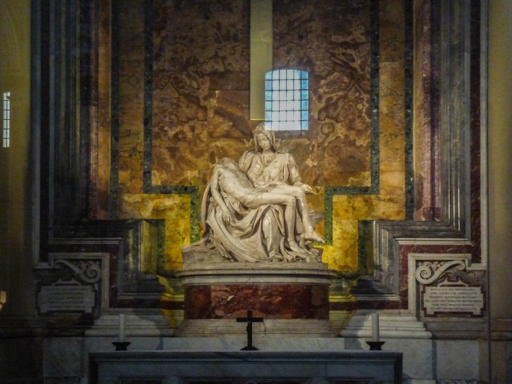 La Pietà de Michel-Ange - Basilique Saint Pierre de Rome