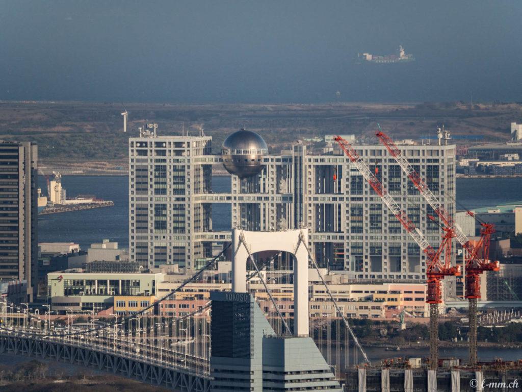 Rainbow Bridge et Odaiba - Tokyo