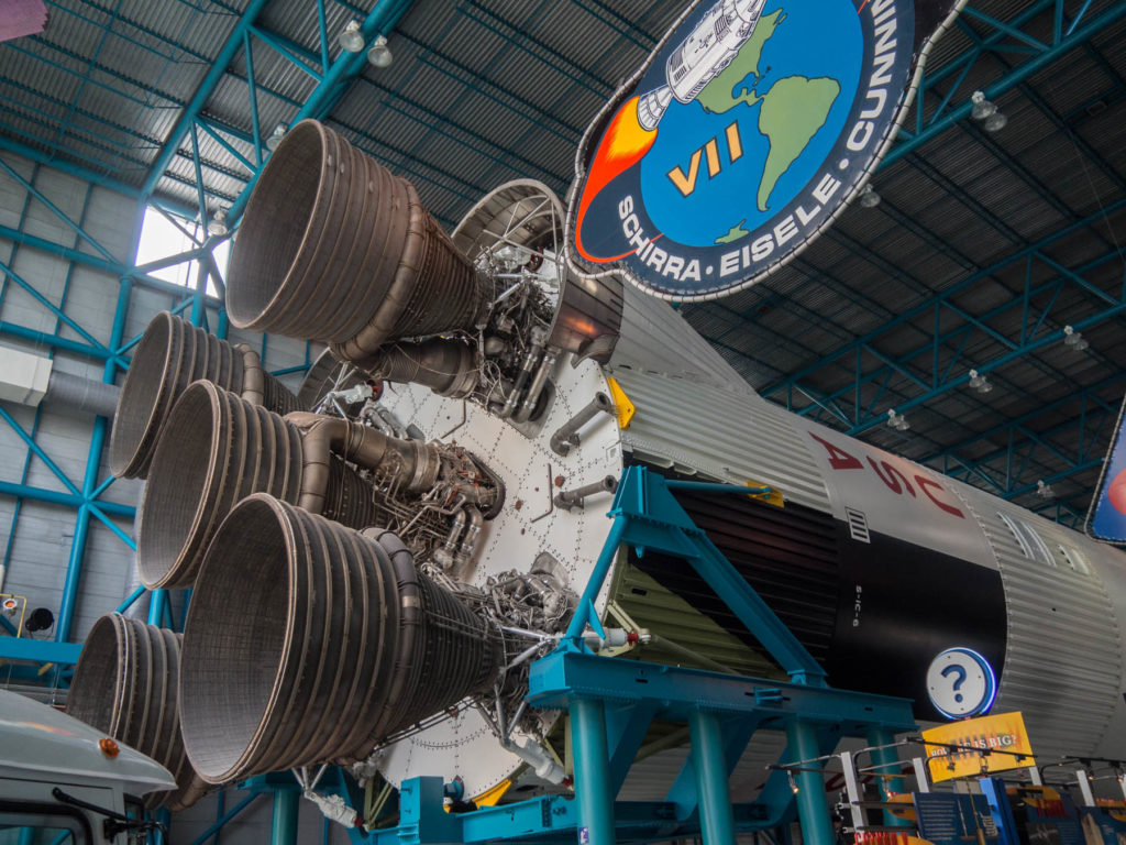 Fusée Saturn V premier étage - Kennedy Space Center - Cape Canaveral
